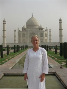 Kay at the Taj 2010
